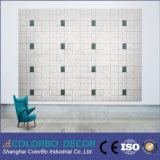 Environment-Friendly lana de madera azulejos acústicos Micro