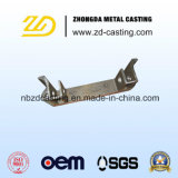 Pezzo fuso dorato dell'acciaio legato della fonderia dell'OEM Cina