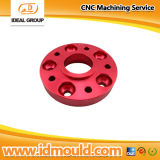 CNC Machining Parte dell'alluminio con Polish e Red Anodizing