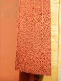 Strato strutturato a temperatura elevata della gomma di silicone della spugna