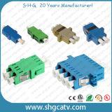 Faser-optischer Adapter Sc-FC LC Str.-MU MTRJ