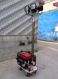 Torretta di illuminazione mobile esterna del generatore di potere della benzina