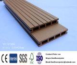 La plupart de plancher en plastique en bois du Decking du composé de produits rentables populaires/WPC/WPC pour extérieur
