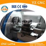 Macchina orizzontale del tornio di CNC della Cina