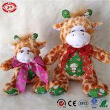 Deer cadeau de Noël Hot Sale mascotte en peluche Soft jouet en peluche