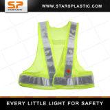 LRV-A73-260 Revestimento de segurança reflexivo LED Revestimento de segurança iluminado LED Revestimento de corrida reflexivo