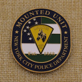 Moulé personnalisé Ville de New York Police Défi Coin