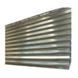Por imersão a quente galvanizado Galvalume Telhado de aço corrugado Preço de folhas por folha