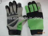 Механик-Scartch Glove-Anti Glove-Safety Glove-Work Glove-Anti вибрации вещевого ящика