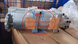 Bomba de petróleo hidráulica 705-56-34290 da engrenagem da bomba do guindaste Lw250-5h