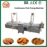 Poissons continus de constructeur de pommes frites automatiques de pommes chips faisant frire la machine