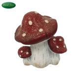 Família de cogumelo Vermelho interessante jardim decoração para venda