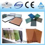 건물을%s 사려깊은 색을 칠한 유리제 장식무늬가 든 유리 제품 강화 유리