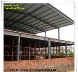 Estructura de acero de dos pisos del palmo de la larga vida