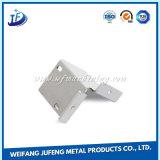 Peças personalizadas da fabricação de metal da folha com o revestimento branco do pó