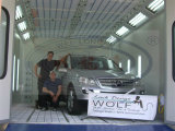 Wld8400 Waterbrone Auto Car Painting Spray Booth / Car Pintura Câmara / Cabina De Pintura