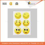 Calcomanía expresión personalizada papel autoadhesivo impresión de la etiqueta engomada Impreso