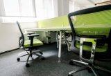 Stazione di lavoro commerciale Desk-PS-1583-4 del calcolatore del personale di ufficio di colore bianco elegante