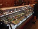 Heißer Nahrungsmittelwärmer für Supermarkt/Gaststätte