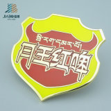 Pin promozionale su ordinazione del distintivo dell'argento del metallo del ricordo dello smalto del regalo