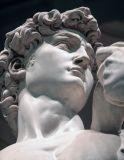 Berühmte Kunst-Skulptur-weiße Marmorgranit-Skulptur