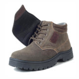スエードの革反粉砕の人の安全靴