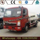 Sinotruk HOWO 4X2 camion-citerne Transport d'huile du réservoir de stockage de carburant diesel de 8 camions de livraison de carburant de GAC pour la vente