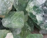 Fluorito Shinning del fluorito del octaedro del precio verde natural al por mayor del fluorito