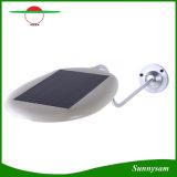 새로운 옥외 점화 4000mAh 12 15 18LED 태양 가로등 정원 통로 벽 램프 LED 태양 전지판 빛 정원 훈장