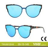 Neue Entwurfs-Form-Frauen-Sonnenbrillen UV400 mit Cer (125-C)