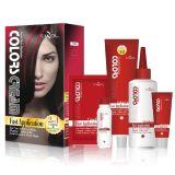 Tazol Kosmetik markiert Haar-Farbe (Rose) (60ml*2+30ml+60ml+10ml)