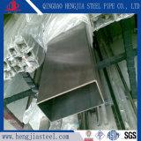 Pipe rectangulaire de tube de section de cavité d'acier inoxydable de Tp316L