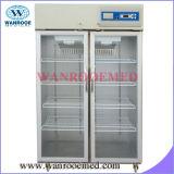 Réfrigérateur de banque de sang de 4 degrés (950L-1380L)
