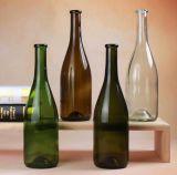 750ml verde scuro/Brown/bottiglia di vetro libera del vino rosso della Borgogna