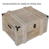 販売の紅茶のための高品質のPaulowniaの木箱