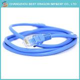 O Cat5e CAT6 CAT6um cabo Cat7 Ethernet LAN patch cord cabo de rede