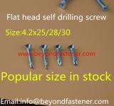 Roofing gekerbte Schrauben-Hex Kopf-Selbstbohrende Schraube Tek Schraube