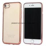 Caso suave de electrochapado de TPU para el iPhone 7