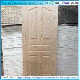 Black Walnut/Wenge frente la chapa de madera contrachapada de moldeado de la hoja de puerta de la piel