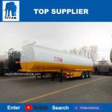 Titan-rostfreier halb Schlussteil 48, 000 Liter für Palmöl-Transport-Rohöl-Tanker-Schlussteile