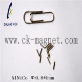 Ck207アルニコの磁石の特性のΦ 0.8*5mm