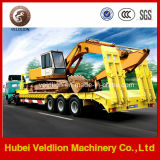 50mt/50 Tons Low Bed Semi Trailer