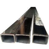 ASTM 304는 스테인리스 직사각형 관을 용접했다