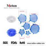 Силиконовые крышки силиконовые многоразовые растянуть крышки чаши и крышки