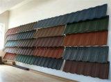 多彩な波形の電流を通された鋼板の石の上塗を施してあるタイル