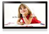 Monté sur un mur 21.5/22pouces à écran tactile de la publicité Player Affichage LED de signalisation numérique avec Android 6.0+32g à quatre cœurs 4G,