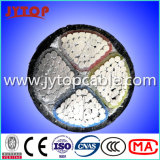 O cabo de alumínio 1kv Cabo de PVC 4x120mm com certificado CE