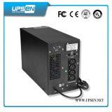 Ampla gama de entrada e frequência UPS com Pfc