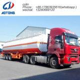 燃料のための半50cbm 3コンパートメント炭素鋼の石油タンカーのトレーラーかディーゼルまたは粗野な輸送