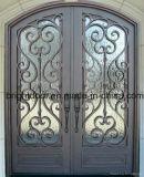 Дешевые передней двери из кованого железа главные ворота дизайн